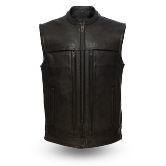 Rampage - Men's Motorcycle Leather Vest