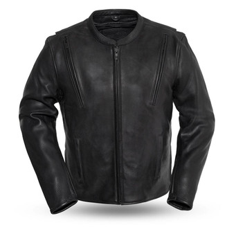 Revolt - Men's Motorcycle Leather Jacket - SKU GRL-FIM271CPMZ-FM