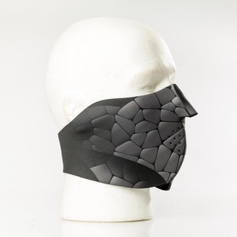 Rock Ninja Neoprene Half Face Mask - SKU GRL-FMY33-HI