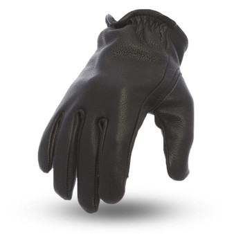 Roper - Men's Leather Motorcycle Gloves - Choice Of Colors - SKU FI211-FM