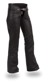 Sissy - Ladies Leather Motorcycle Riding Chaps - SKU GRL-FIL745CSL-FM