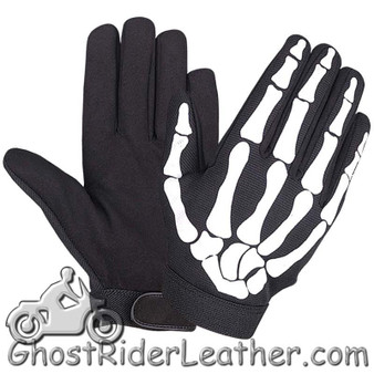 Skeleton Hands Mechanics Gloves - Similar to Storage Wars Barry Weiss - SKU 1484.55-UN