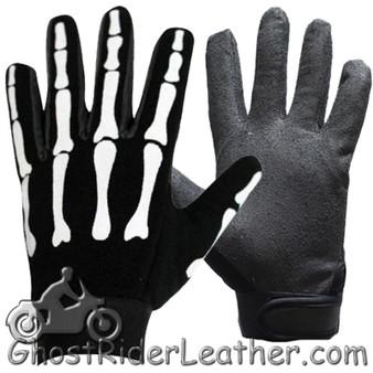 Skeleton Mechanics Gloves - Similar to Storage Wars Barry Weiss - SKU GL2045-N-DL