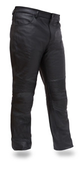 Smarty Pants - Mens Jean Style Leather Pants - SKU GRL-FIM834CSL-FM