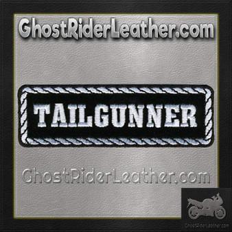 Tailgunner Motorcycle Biker Vest Patch - SKU GRL-PPD1013-HI