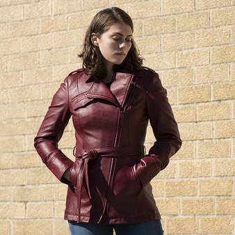 Traci - Women's Leather Jacket - WBL1087