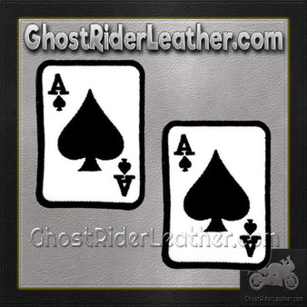 Two Ace of Spades Patches - SKU GRL-PPL9084-X2-HI