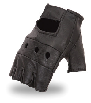 Two Pair of Fingerless Leather Gloves | SKU GRL-FI160GL-FM