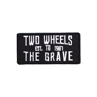 Two Wheels To The Grave Patch