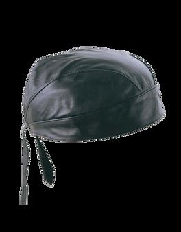 UNIK Black Leather Headwraps - SKU GRL-1335-00-BLK-UN