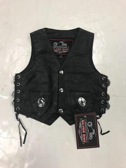 UNIK Boy's Premium Leather Vest