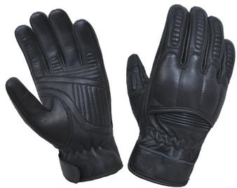 Full Finger Black Reinforced Leather Gloves - SKU 8169-00-UN