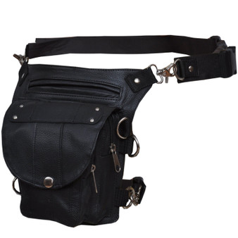 UNIK Ladies Leather Thigh Bags - SKU GRL-2083-00-UN