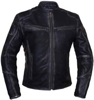 UNIK Ladies Ultra Leather Reflective Motorcycle Jacket - 6833-RF-UN