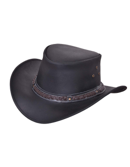 UNIK Leather Outback Hats 2