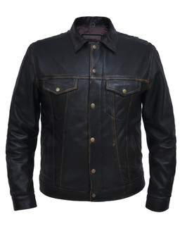 UNIK Men's Colorado Brown Shirt Jacket
