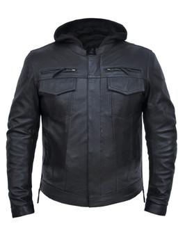 Men's Premium Lambskin Leather Jacket