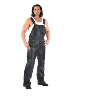 UNIK Men's Premium Leather Chaps Overalls - SKU GRL-815-00-UN