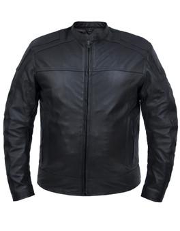 UNIK Men's Premium Lightweight Leather Jacket