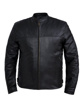 UNIK Men's Premium Lightweight Leather Jacket 2