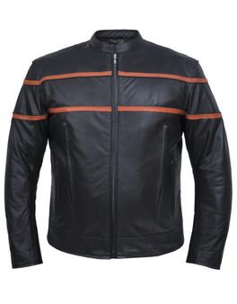 UNIK Men's Premium Lightweight Leather Jacket 3