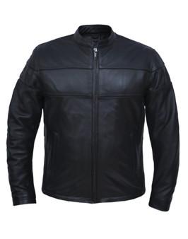 UNIK Men's Ultra Leather Motorcycle Jacket 2