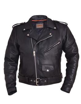 UNIK Men's Ultra Leather Motorcycle Jacket 3