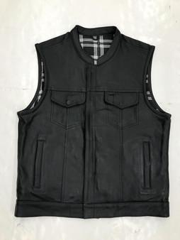 UNIK Men's Vest with Black / White Flannel Liner
