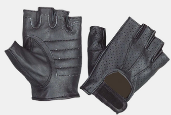 UNIK Perforated Fingerless Gloves - SKU 8102-00-UN