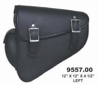 UNIK Swing Arm Bag Left Side - Motorcycle Storage - SKU 9557-00-UN