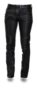 Vixen Women's Leather Pants - SKU GRL-FIL711CJ-FM