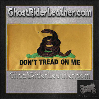 Yellow Gadsden Flag Patch - SKU GRL-PAT-C230-DL