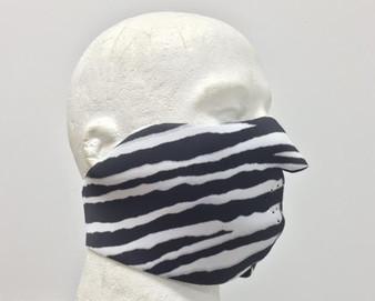 Zebra Neoprene Half Face Mask - SKU GRL-FMY36-HI