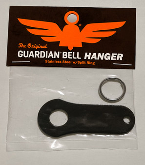 Bell Hanger - Black - Motorcycle Guardian Bell - SKU GB-BELL-H-BLK-DS