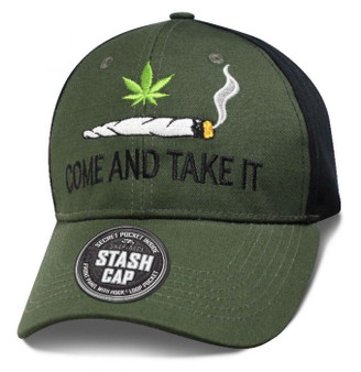 Come And Take It - Stash Cap - Baseball Cap - SKU SHCOMH-DS