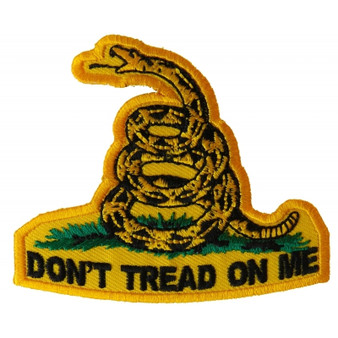 Don't Tread On Me Patch - Buy One Get One Free - Vest Patch - P3111-DS