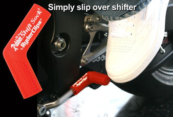 Rubber Shift Sock - Red - Motorcycle Accessories - RSS-RED-DS