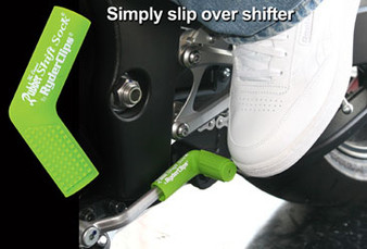 Rubber Shift Sock - Green - Motorcycle Accessories - RSS-GREEN-DS