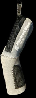Neoprene Shift Sock - Silver- Motorcycle Accessories - SS-SILVER-DS