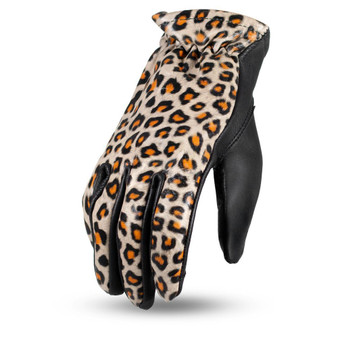 2-Toned Roper Ladies Leather Gloves - Choice Of Colors - SKU FI301-FM