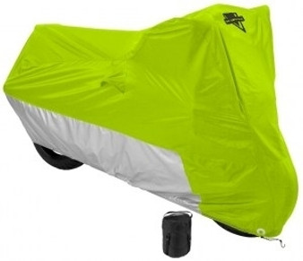 Defender Deluxe Motorcycle Cover - Hi-Vis Yellow - Bike Cover - MC-905-DS