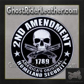 2nd Amendment Original Homeland Security Vest Patch - SKU GRL-PPA5957-HI