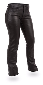 Alexis Women's Leather Pants - SKU GRL-FIL710CFD-FM