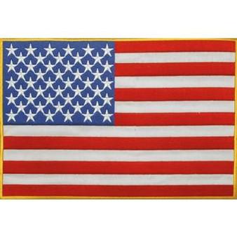 American Flag Vest or Jacket Patch - SKU PAT-B102-DL