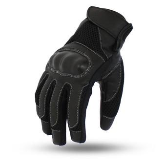 Axis Hard Knuckle Motorcycle Racing Gloves - SKU FI214-FM