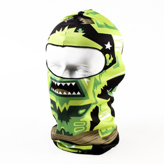 Full Face Mask - Azteca Design - Balaclava - Motorcycle Mask - AZTECA-HI