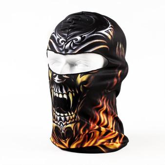Balaclava Full Face Mask - Blaze Design - SKU GRL-BLAZE-HI