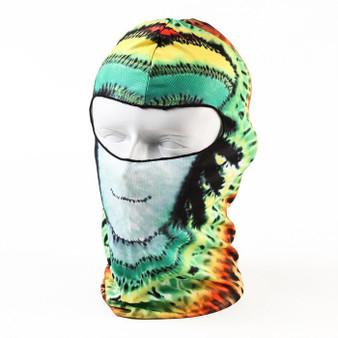 Full Face Mask - Bob Gnarley Design - Motorcycle Mask - Balaclava - BOBGNARLEY-HI