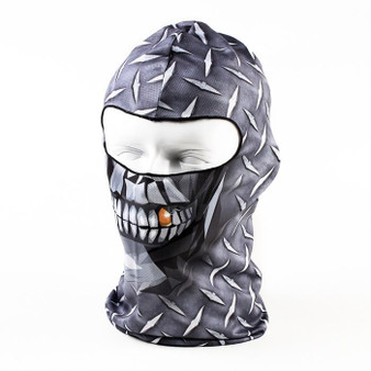 Balaclava Full Face Mask - Diamond Face Design - SKU GRL-DIAMONDFACE-HI