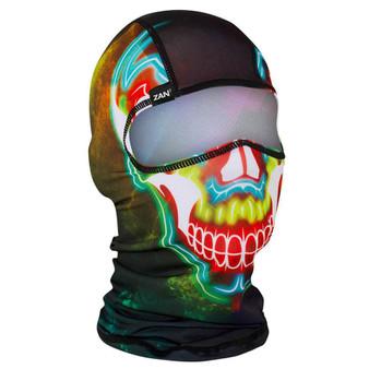 Balaclava Full Face Mask - Electric Skull Design - SKU GRL-ELECTRICSKULL-BALA-HI